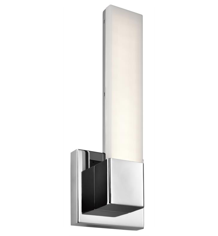 "Elan Lighting 83792 Neltev 2 Light 5"" LED Wall sconce in Chrome Finish"