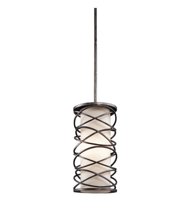 Kichler 42466WMZ Krasi 1 Light Incandescent Pendant in Warm Bronze