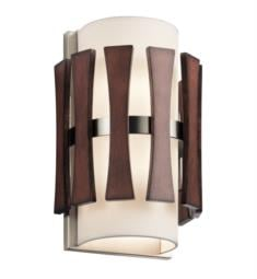 Kichler 43756AUB Cirus 2 Light Incandescent Wall Sconce in Auburn Stained