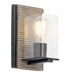 Kichler 45542DAG Millwright 1 Light Incandescent Wall Sconce in Distressed Antique Grey