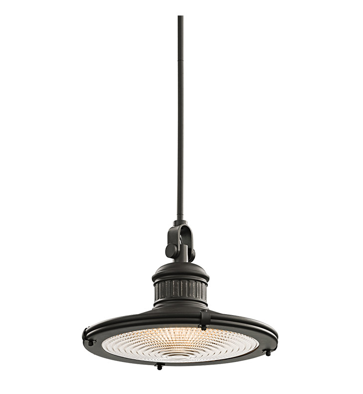 Kichler 42438OZ Sayre Collection Pendant 1 Light in Olde Bronze