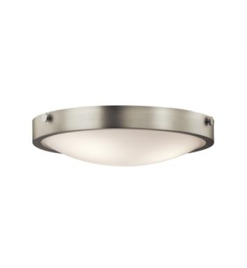 Kichler 42275OZ Lytham 3 Light Incandescent Flush Mount Ceiling Light with Dome Shape Glass Shade With Finish: Olde Bronze