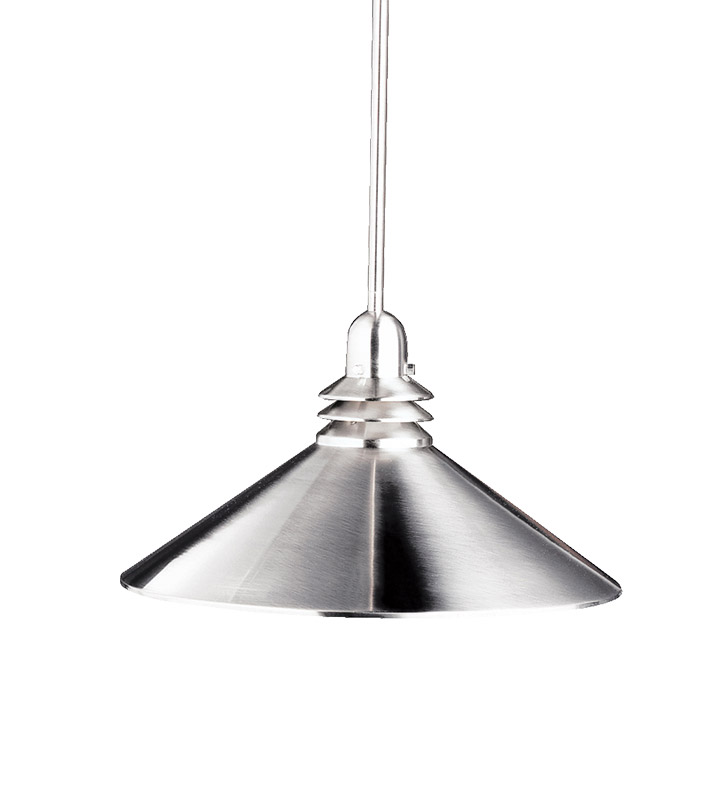 Kichler 2715NI Pendant 1 Light in Brushed Nickel