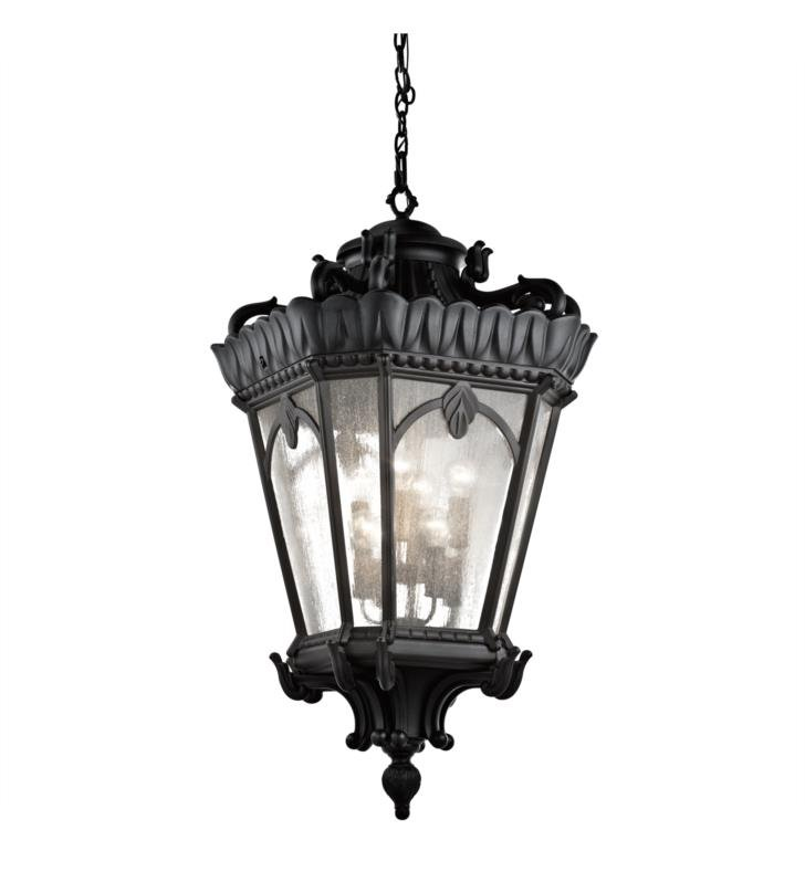 Kichler 9568ld Tournai 8 Light Incandescent Outdoor Hanging Pendant With Finish Londonderry