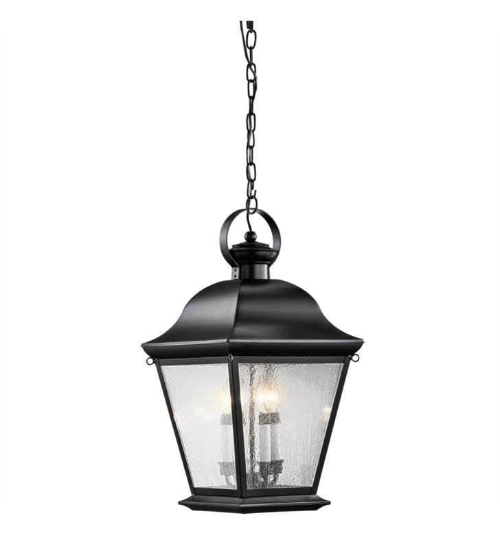 Kichler 9804OZ Mount Vernon 4 Light Outdoor Hanging Pendant With Finish: Olde Bronze