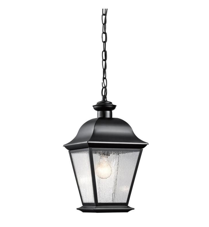 Kichler 9809OZ Mount Vernon 1 Light Incandescent Outdoor Hanging Pendant With Finish: Olde Bronze