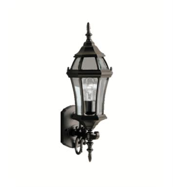 "Kichler 9790TZ Townhouse 1 Light 21 1/2"" Incandescent Outdoor Wall Sconce with Lantern Shaped Glass Shade With Finish: Tannery Bronze"
