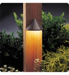 Kichler 15045AZT Six Groove 1 Light 12V Incandescent Landscape Deck Light in Textured Architectural Bronze - Pack of 4