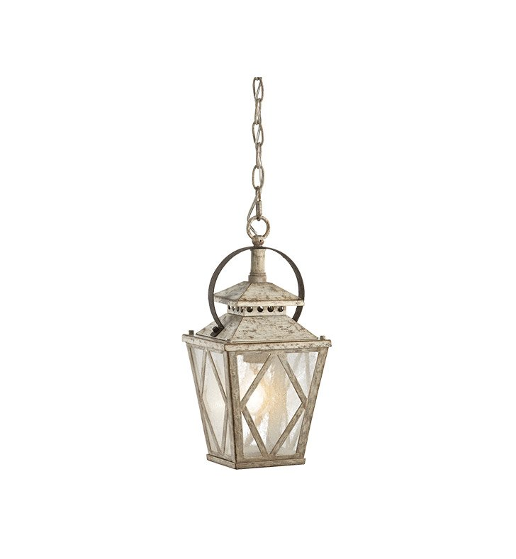 Kichler 43246DAW Hayman Bay Collection Interior Pendant 1 Light in Distressed Antique White