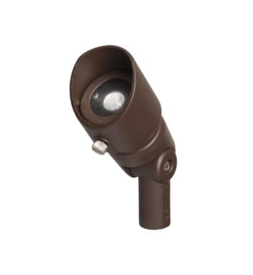 Kichler 16002AZT27 Landscape LED 3W 12V 1 Light 60 Degree Accent Light With Finish: Textured Architectural Bronze And Color Temperature: Kelvin Temperature: 2700K