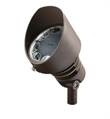 Kichler 16203AZT42 Landscape LED 19.5W 120V 8 Light 35 Degree Accent Light With Finish: Textured Architectural Bronze And Color Temperature: Kelvin Temperature: 4250K