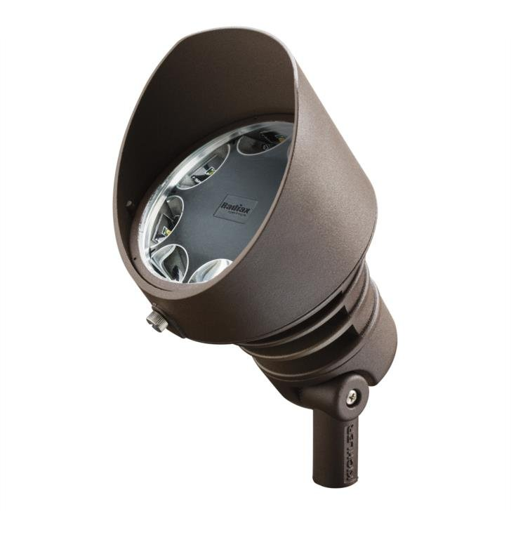 Kichler 16207BBR30 Landscape LED 19.5W 120V 8 Light 60 Degree Accent Light With Color Temperature: Kelvin Temperature: 3000K