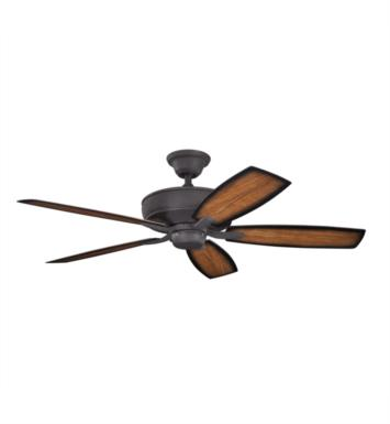 "Kichler 310103DBK Monarch II Patio 5 Blades 52"" Indoor Ceiling Fan With Finish: Distressed Black"