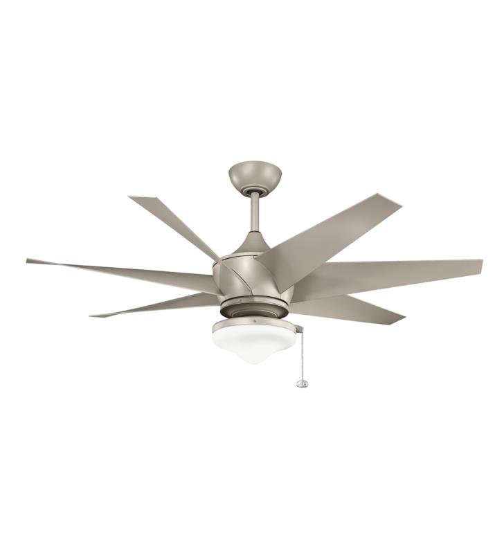 "Kichler 310112CMO Lehr II Climates 7 Blades 54"" Indoor Ceiling Fan With Finish: Coffee Mocha"