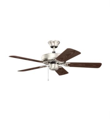 "Kichler 414SNB Basics Patio 5 Blades 42"" Indoor Ceiling Fan With Finish: Satin Natural Bronze"