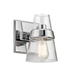 "Kichler 45395CH Reese 1 Light 6 1/4"" Incandescent Wall Sconce in Chrome"