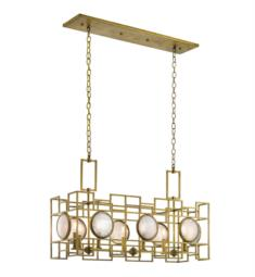 Kichler 43931NBR Vance 8 Light Incandescent Linear Chandelier in Natural Brass