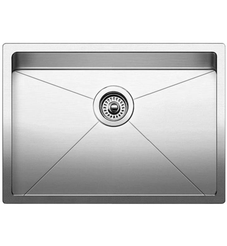 Blanco 521484 Quatrus 28 Single Bowl Undermount Stainless Steel Kitchen Sink