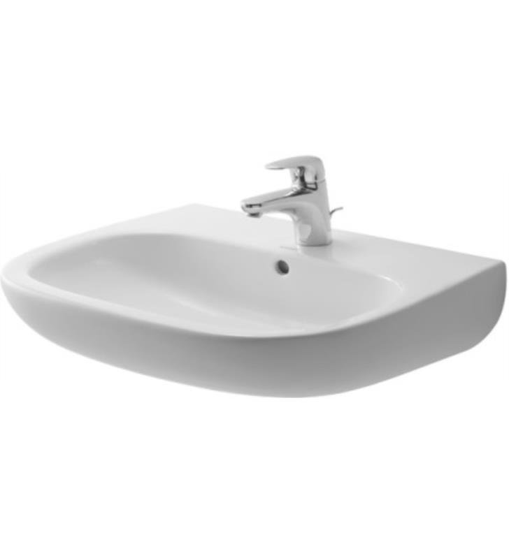 duravit bathroom sinks duravit 231060 d code 23 5 8 quot wall mount bathroom sink 12750