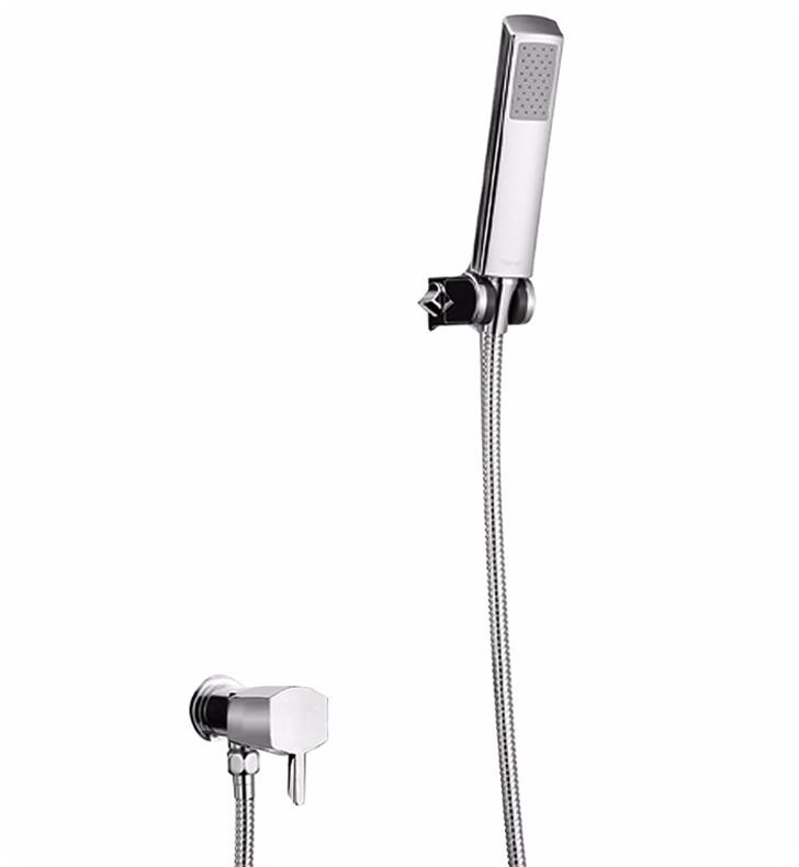 "TOTO TS960F1 Soiree 1 1/8"" 2.5 GPM High-Efficiency Single Function Handshower Set with Lever Handle"