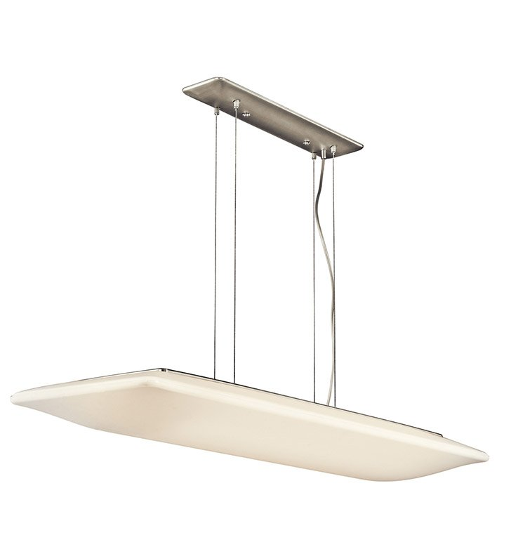 Kichler 10709NI Ara Collection Pendant 4 Light Fluorescent in Brushed Nickel