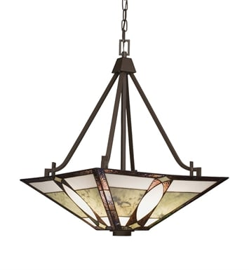 Kichler 65322 Denman Collection Inverted Pendant 3 Light