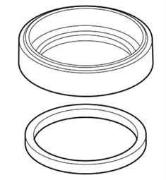 Brizo RP77552 Artesso Base and Gasket