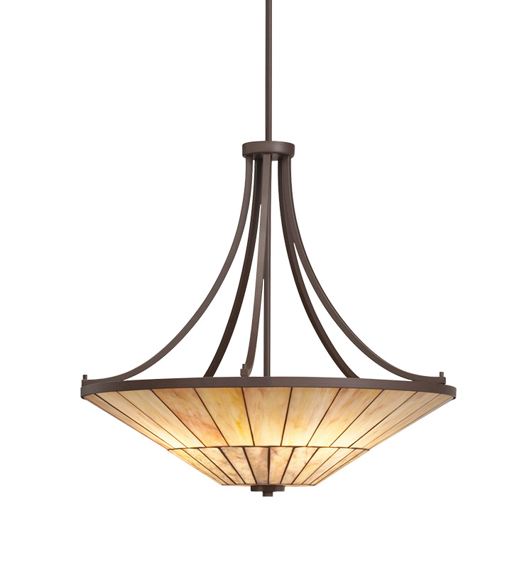 Kichler 65355 Morton Collection Inverted Pendant 4 Light