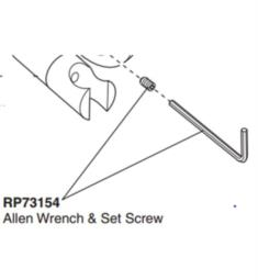 Brizo RP73154 Odin Allen Wrench and Set Screw