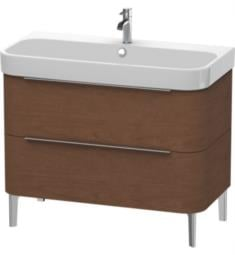 "Duravit H26374 Happy D.2 38 3/8"" Floor Standing Single Bathroom Vanity with Two Drawers"