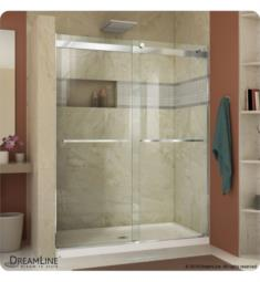 DreamLine SHDR-63760 Essence 44 to 60 in Frameless Bypass Shower Door