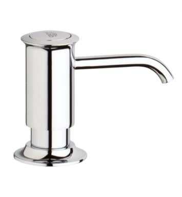 "Grohe 40537ZB0 Authentic 3 1/8"" Deck Mounted Soap Dispenser With Finish: Antique Bronze"