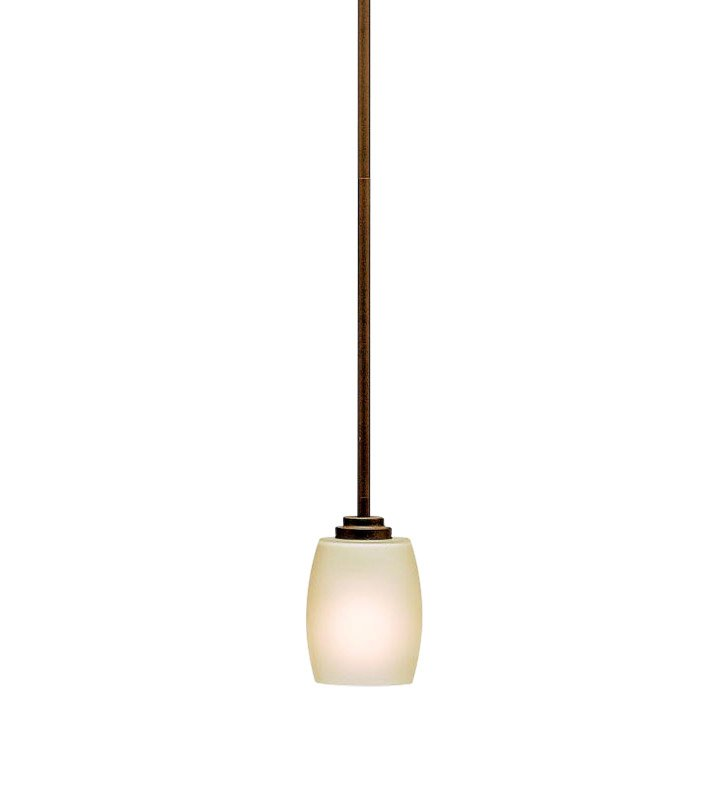 Kichler 3497OZ Eileen Collection Mini Pendant 1 Light in Olde Bronze