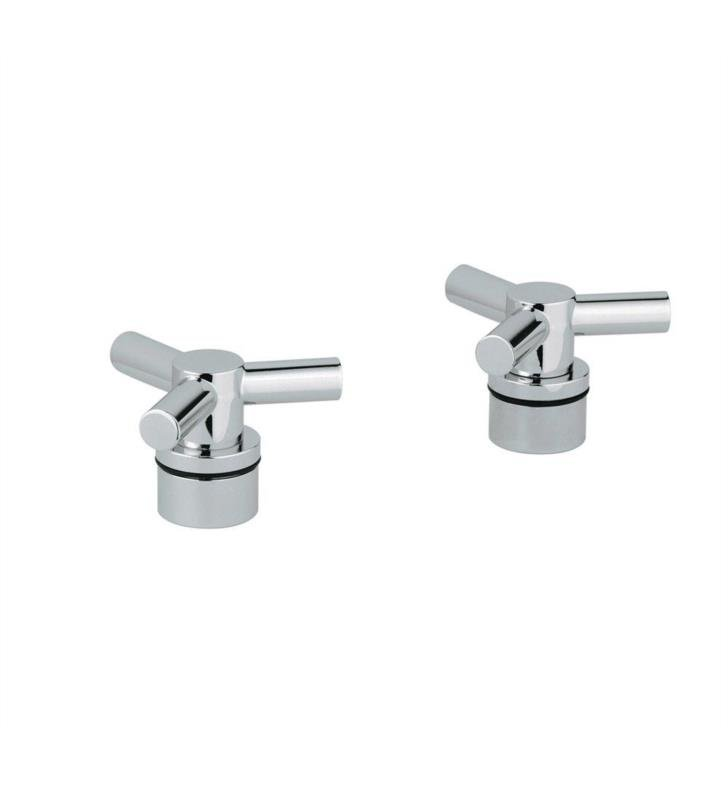 "Grohe 18033EN0 Atrio 4 1/2"" Ypsilon Spoke Handles for Roman Tub Filler With Finish: Brushed Nickel"