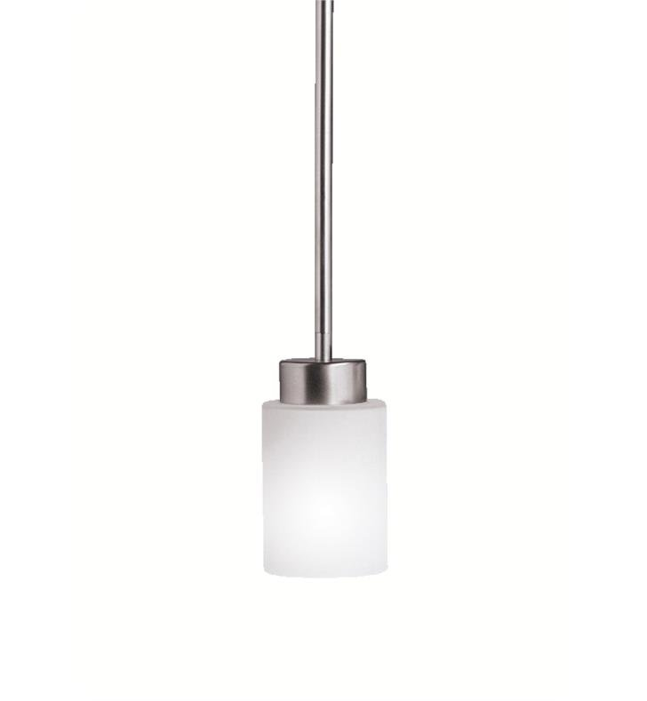 Kichler 3030NI Modena 1 Light Incandescent Mini Pendant in Brushed Nickel