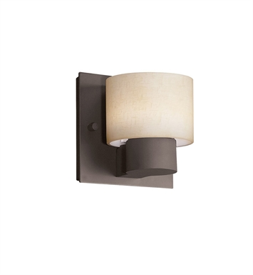 Kichler 10402OZ Adao Collection Wall Sconce 1 Light Fluorescent in Olde Bronze