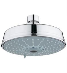 "Grohe 27130 RainShower Rustic 6 3/8"" Wall/Ceiling Mount Bathroom Shower Head with Four Spray"