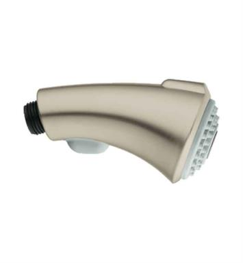 "Grohe 46173IE0 Bridgeford 4"" Pull-Out Hand Spray Head With Finish: Chrome / Grey"