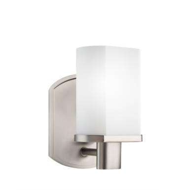 "Kichler 5051NI Lege 1 Light 4 3/4"" Incandescent Wall Sconce in Brushed Nickel"