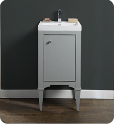 "Fairmont Designs 1510-V1816A Charlottesville 17 1/2"" Free Standing Single Bathroom Vanity with One Shelf in Light Gray"