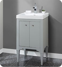 "Fairmont Designs 1510-V2118A Charlottesville 21"" Free Standing Single Bathroom Vanity with One Shelf in Light Gray"
