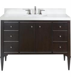 "Fairmont Designs 1511-V48A Charlottesville 48"" Free Standing Single Bathroom Vanity with Six Drawers in Vintage Black"