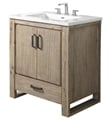 "Fairmont Designs 1530-V30 Oasis 30"" Free Standing Single Bathroom Vanity with One Drawer in Sand Pebble"
