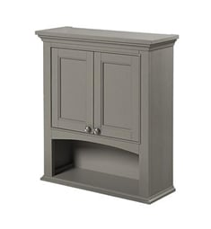 "Fairmont Designs 1504-BV24 Smithfield 26 3/8"" Bath Valet in Medium Gray"
