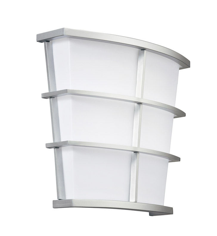 Kichler 10441SI Pavilion Collection Wall Sconce 1 Light Fluorescent in Silver Various