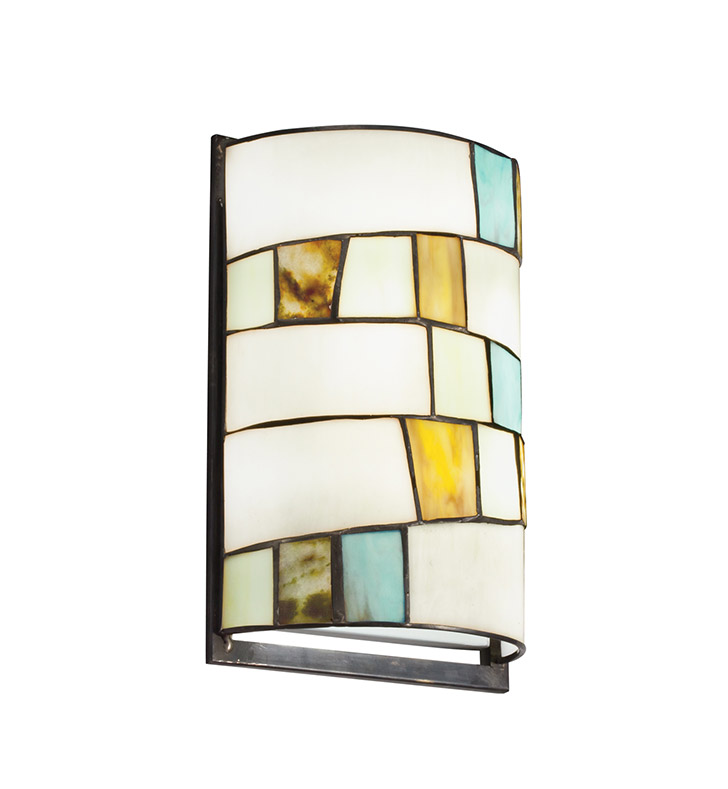 Kichler 69144 Mihaela Collection Wall Sconce 2 Light Fluorescent in Multi-Colored