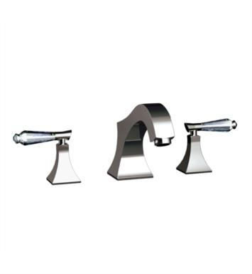 "Santec 9250DC45-TM Edo Crystal Roman Tub Filler Set With ""DC"" Handles - (Uses P0002 Valve) With Finish: Satin Rose Gold <strong>(USUALLY SHIPS IN 4-5 WEEKS)</strong>"