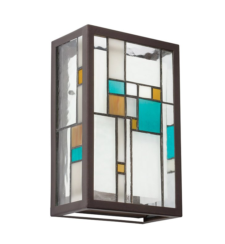 Kichler 69192 Caywood Collection Wall Sconce 2 Light Halogen in Multi-Colored