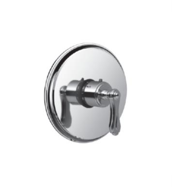 "Santec 7093BR55-TM Baroque Thermostatic Shower - Trim Only with BR Handle (Includes 3/4"" Trim Plate and Handle, Requires Separate Volume Control) Valve Not Included Uses TH-5034 Valve With Finish: Satin 24K Gold <strong>(USUALLY SHIPS IN 4-5 WEEKS)</strong>"