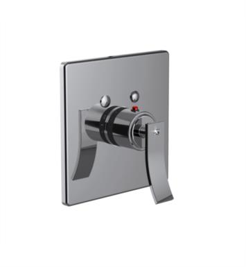 "Santec 7093CR88-TM Ava Crystal Thermostatic Shower - Trim Only with CR Handle (Includes 3/4"" Trim Plate and Handle, Requires Separate Volume Control) Valve Not Included Uses TH-5034 Valve With Finish: Bright Pewter <strong>(USUALLY SHIPS IN 4-5 WEEKS)</strong>"